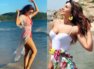 Shama Sikander's beach fashion is hot and chic