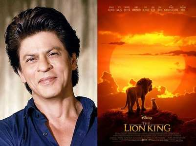 SRK reveals why he saw The Lion King 40 times