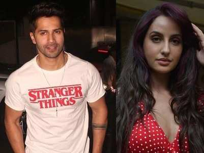 Nora asks Varun to do 'Saki Saki' hook step