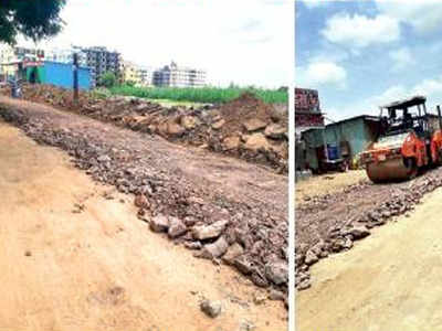 PWD says Keshavnagar to get new road in 4 months | Pune News