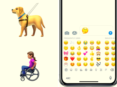 #WorldEmojiDay: Now guide dog and wheelchair emojis for the disabled