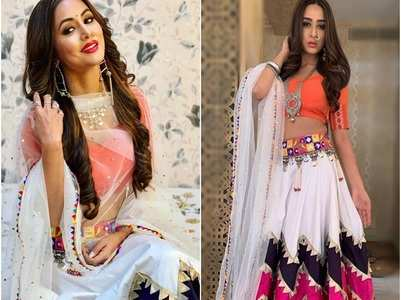 KZK's Ariah copies Hina Khan's swag