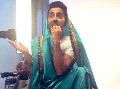 'Dream Girl': Ayushmann dons a saree
