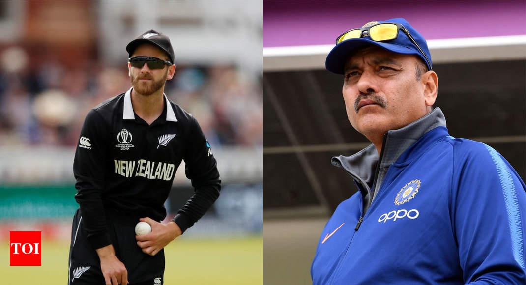 Ravi Shastri praises Kane Williamson for showing remarkable composure despite tough loss