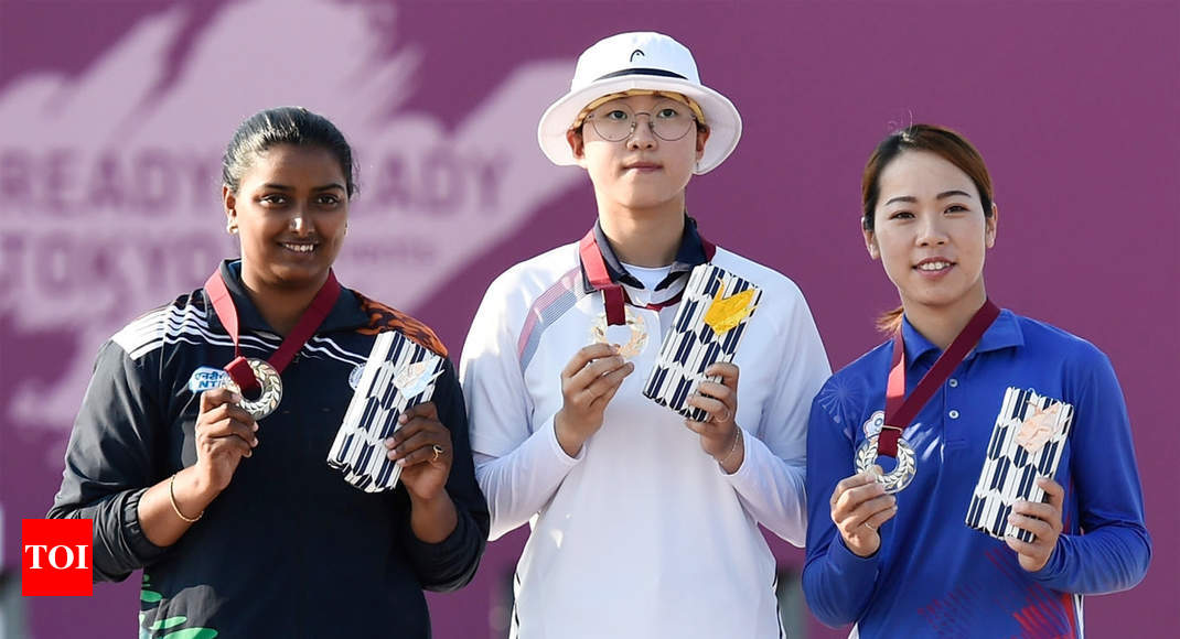 Archer Deepika bags silver in Tokyo Olympics test event
