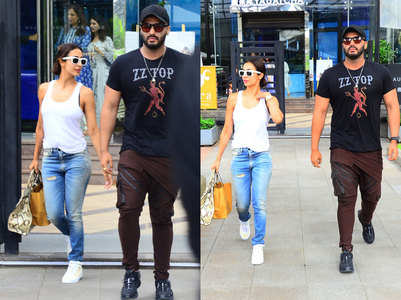 Arjun spotted on a lunch date with Malaika