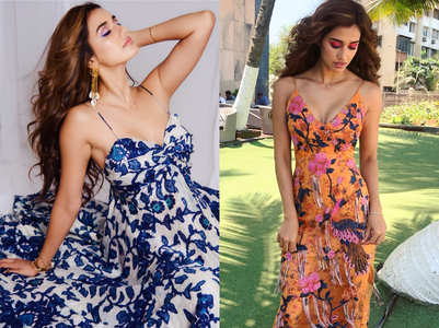 Disha Patani has the hottest dresses in her summer wardrobe