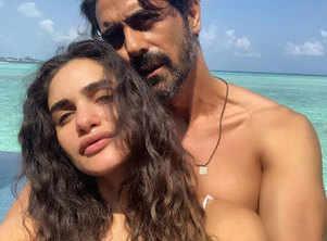 Arjun-Gabriella blessed with a baby boy