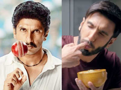 Nutritionist reveals Ranveer Singh's diet for his role in '83'