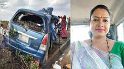 Kannada actress Shobha MV dies in a road accident