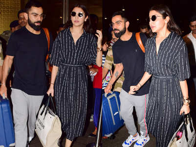 Virat-Anushka return back post World Cup