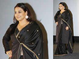 Vidya Balan just showed us how to wear a jacket with sari!