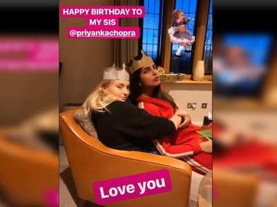 Sophie & Joe wish Priyanka on her birthday