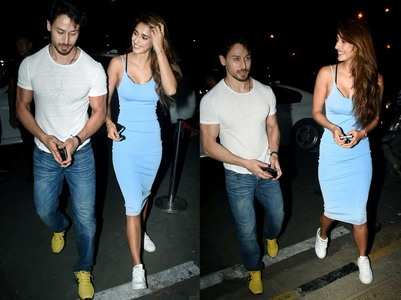Tiger and Disha go on a dinner date together