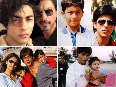 Best photos of SRK & Aryan over the years
