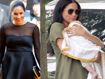 Meghan Markle gets trolled for holding her baby incorrectly!