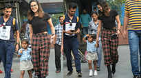 Sunny Leone spends quality time with family