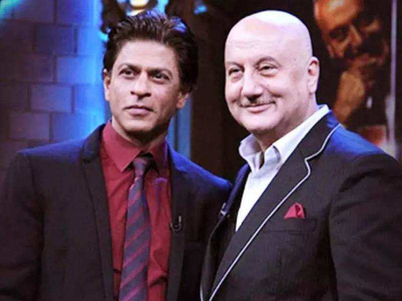 Anupam Kher praises Shah Rukh Khan's decision to take a break from films