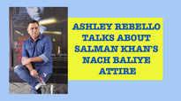 Salman Khan's designer Ashley Rebello gives an insight into the actor's Nach Baliye attire.