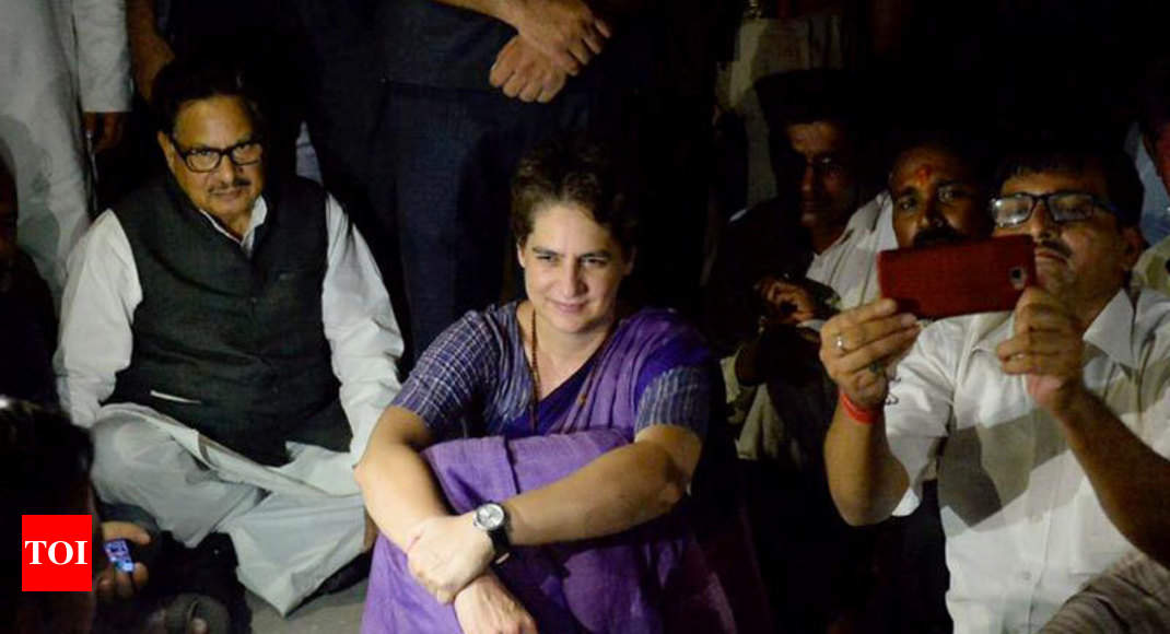 Congress alleges electricity, water supply cut in Sonbhadra guesthouse where Priyanka is detained