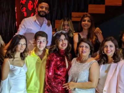 Inside pics from Priyanka's lavish b'day bash