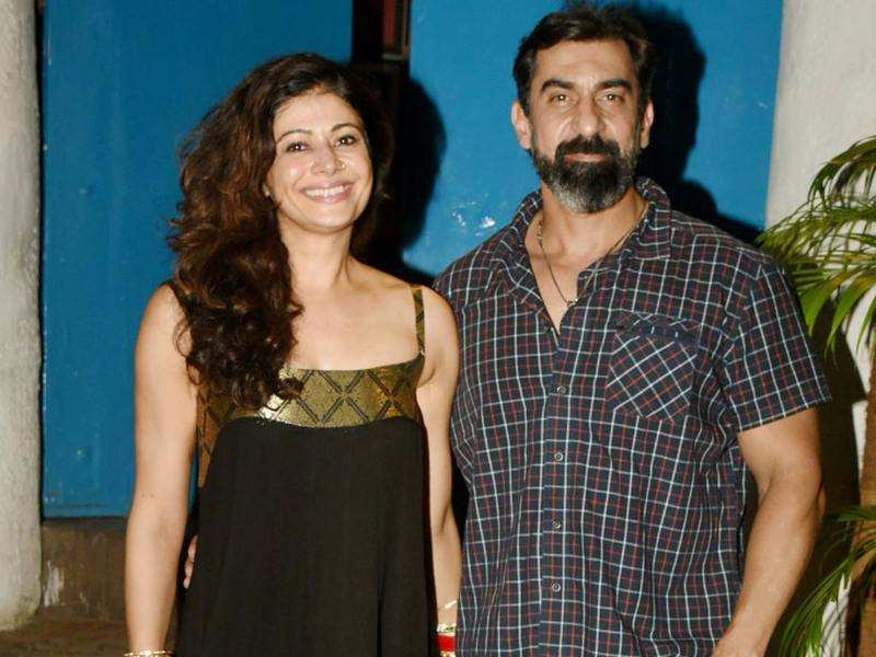 Pooja Batra shows off her red chooras after a dinner night with hubby Nawab Shah and friends