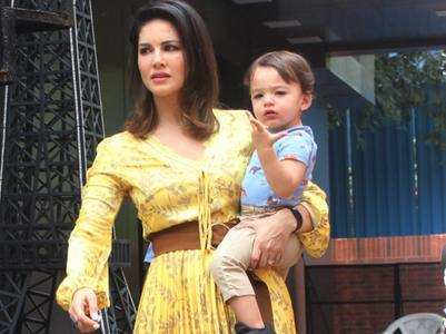 Sunny on her son being compared to Taimur