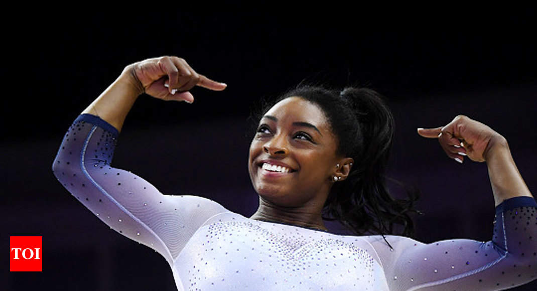 News / Sports News / Others / Simone Biles wins gold medal at US Classic gymnastics