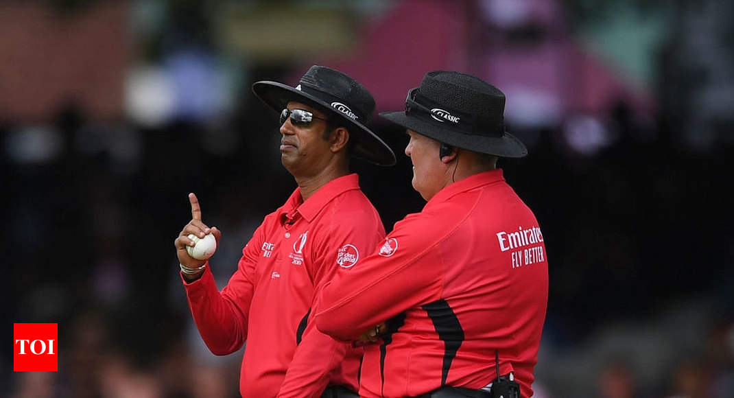 World Cup final umpire admits 'error': Report - Times of India