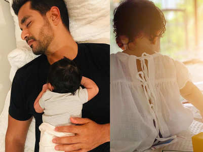 How Angad Bedi spends time with his daughter