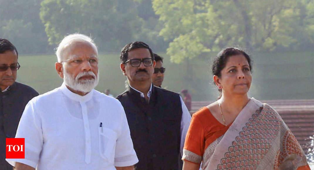 Modi govt 2.0 sets sights on making India $5 trillion economy - Times of India