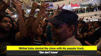 Millind Gaba performs in Noida