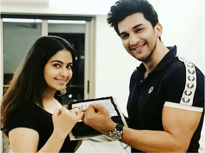 Avika Gor's sweet birthday wish for Manish