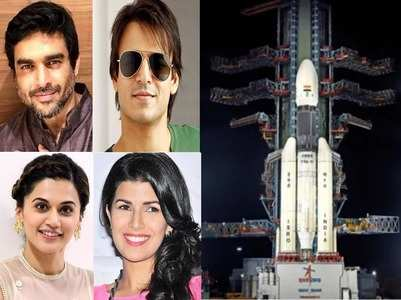 'Chandrayaan 2': Celebs hail ISRO scientists