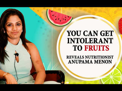 VIDEO: You can get intolerant to fruits