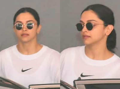 ​Photo: Deepika keeps it cool in casuals