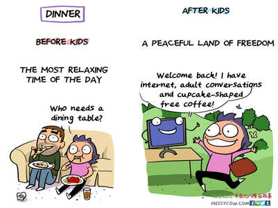This mother's honest comics about life post kids is absolutely spot on