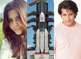 TV celebs laud the launch of Chandrayan 2