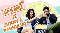 Sip-N-Spill Ft. Sunny Leone and Rannvijay Singha |Splitsvilla 12| |Exclusive|