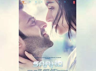 'Saaho': Prabhas-Shraddha love-struck poster