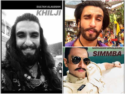 Check out Ranveer and his quirky selfies