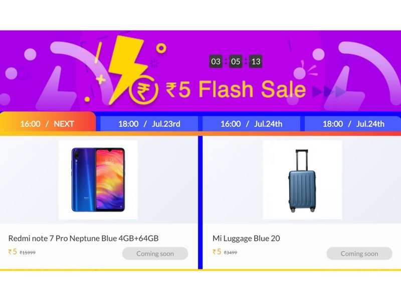 Xiaomi anniversary sale: You can buy Mi LED TV 4A Pro, Redmi Note 7