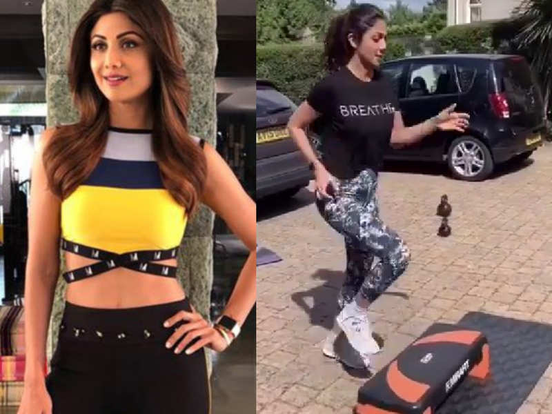 Shilpa Shetty Kundra's 3.5 minute full-body workout is perfect for staying fit!