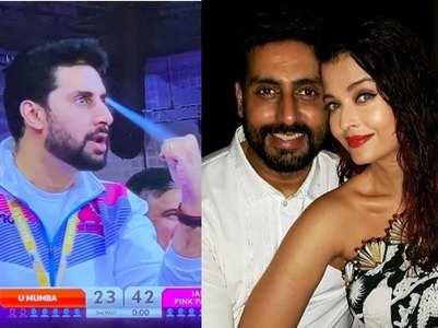 Abhishek calls Aishwarya his 'lucky charm'