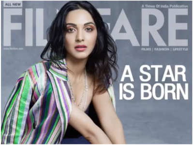 Kiara graces the digital cover of of Filmfare