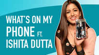 What's On My Phone Ft. Ishita Dutta |Bepanah Pyaarr| |Exclusive|
