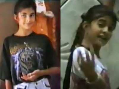 Jacqueline shares an adorable childhood video