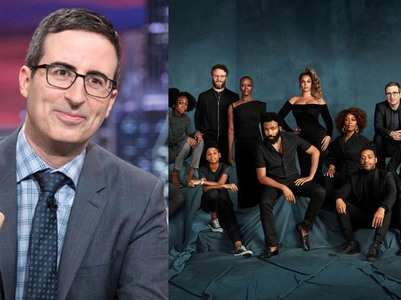 John Oliver confirms Beyonce was photoshopped