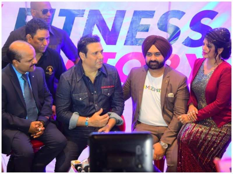 Govinda celebrates fitness at this fun event