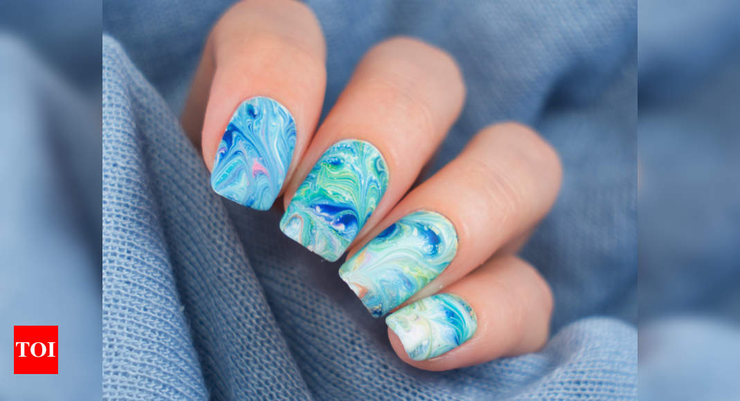 These Water Nail Designs Are Perfect For The Summer Times Of India
